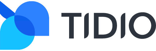 Tidio - live chat softwate - logo